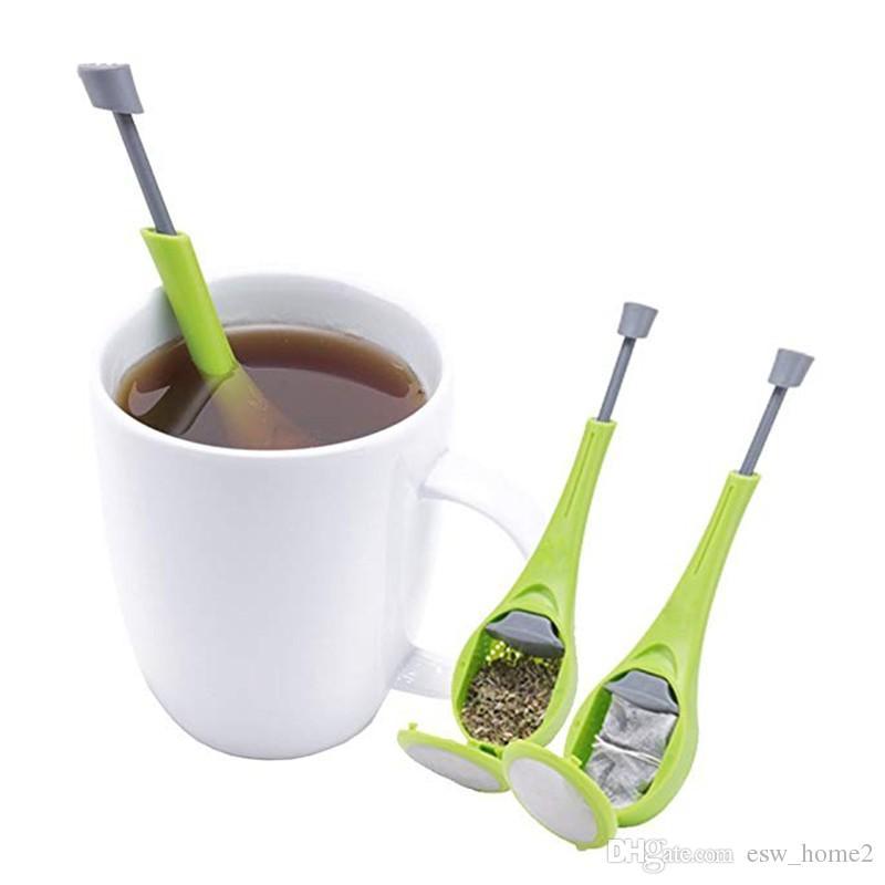 Чайная посуда Ситечко для чая Ситечко для чая Силиконовый ситечко для фильтра производитель чая Чай Кофе для дома Аксессуары Гаджет