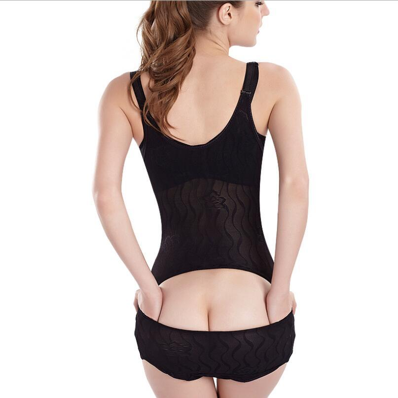 Frauen-Körper-Former-Bodysuit Postpartale Erholung Formwäsche Korsett Gürtel Abnehmen Abdomen In Overall Tummy Cincher Unterwäsche