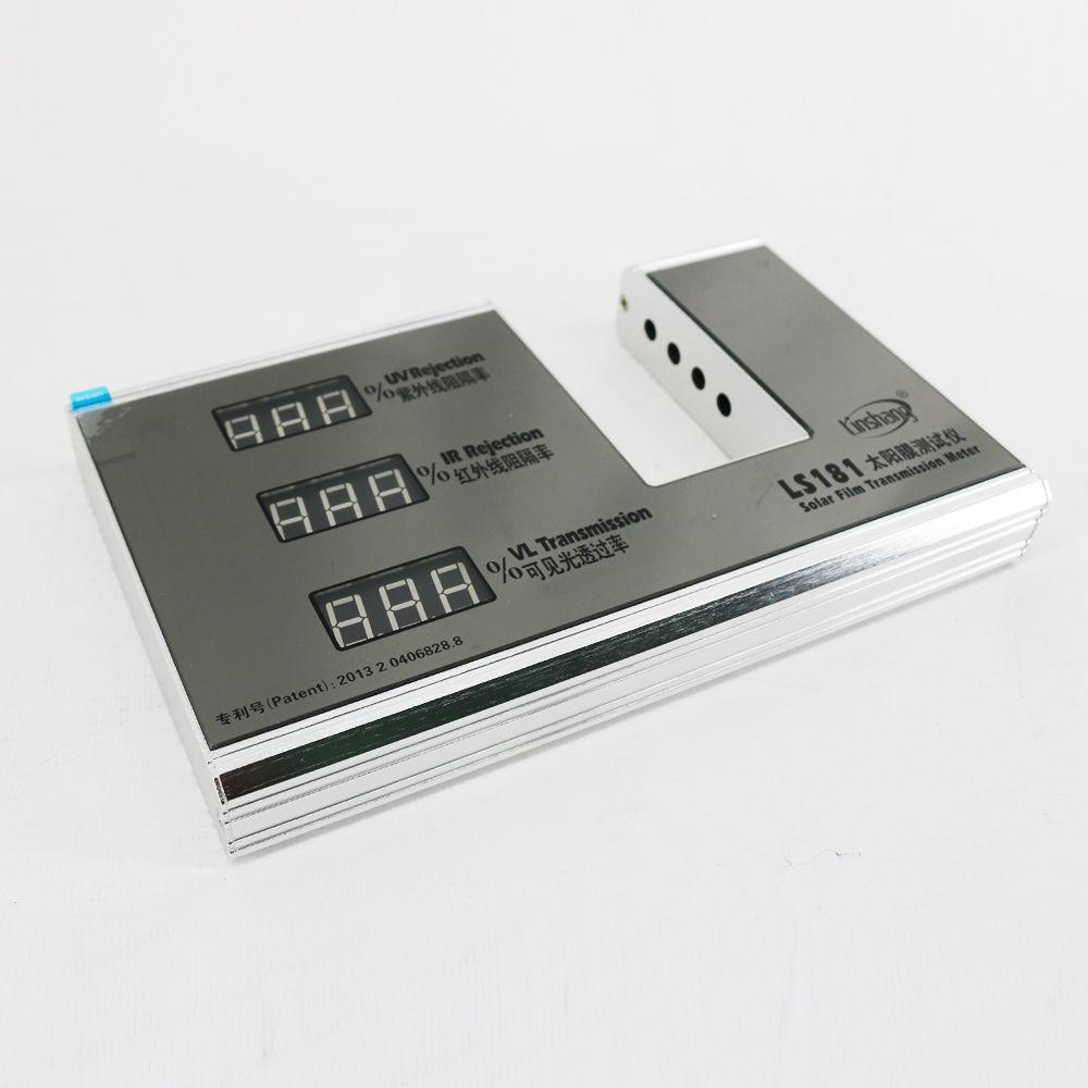 LS181 Misuratore di trasmissione a pellicola solare Misuratore e display UV, valore di rifiuto IR e valore di trasmissione della luce visibile