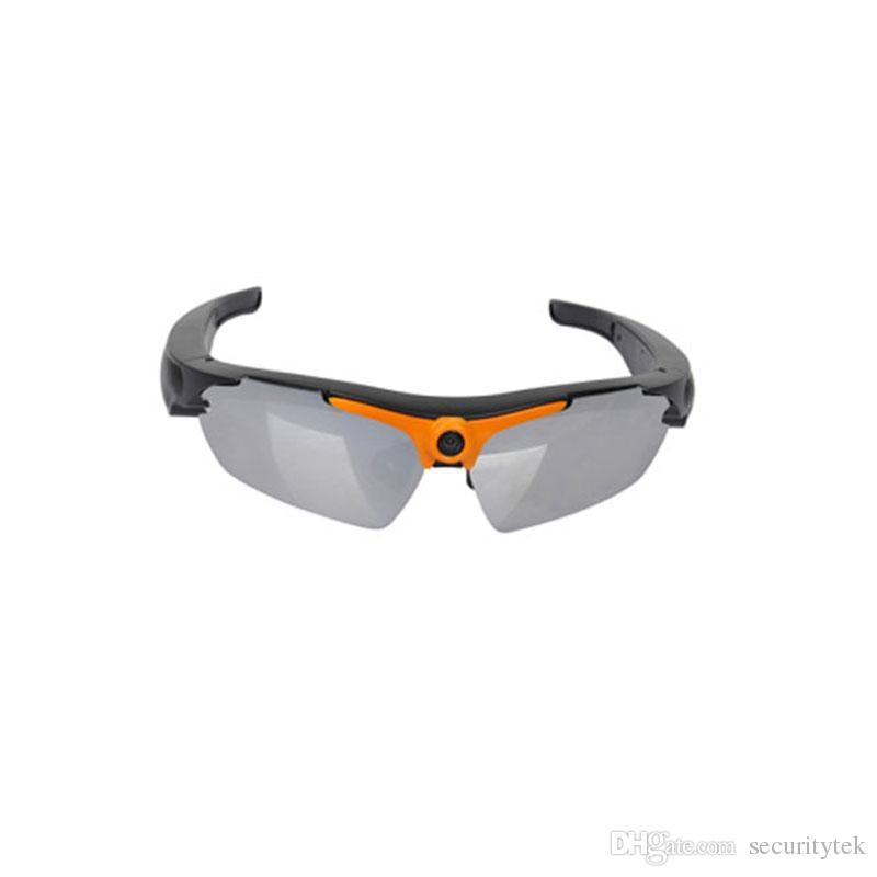 Cámara video DVR de las gafas de sol de los megaveh 1080P HD mini DV DV con la cámara granangular de 170 grados