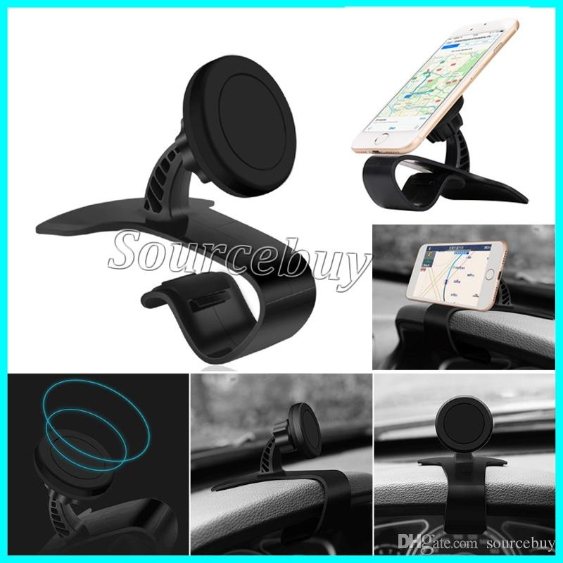 Magnetic Cell Phone Mount >> 2019 360 Degree Rotating Car Phone Holders Magnetic Mobile Phone Stand Holder Dashboard Phone Mount Car Kit Gps Car Mounts Retail Box Black Dhl From