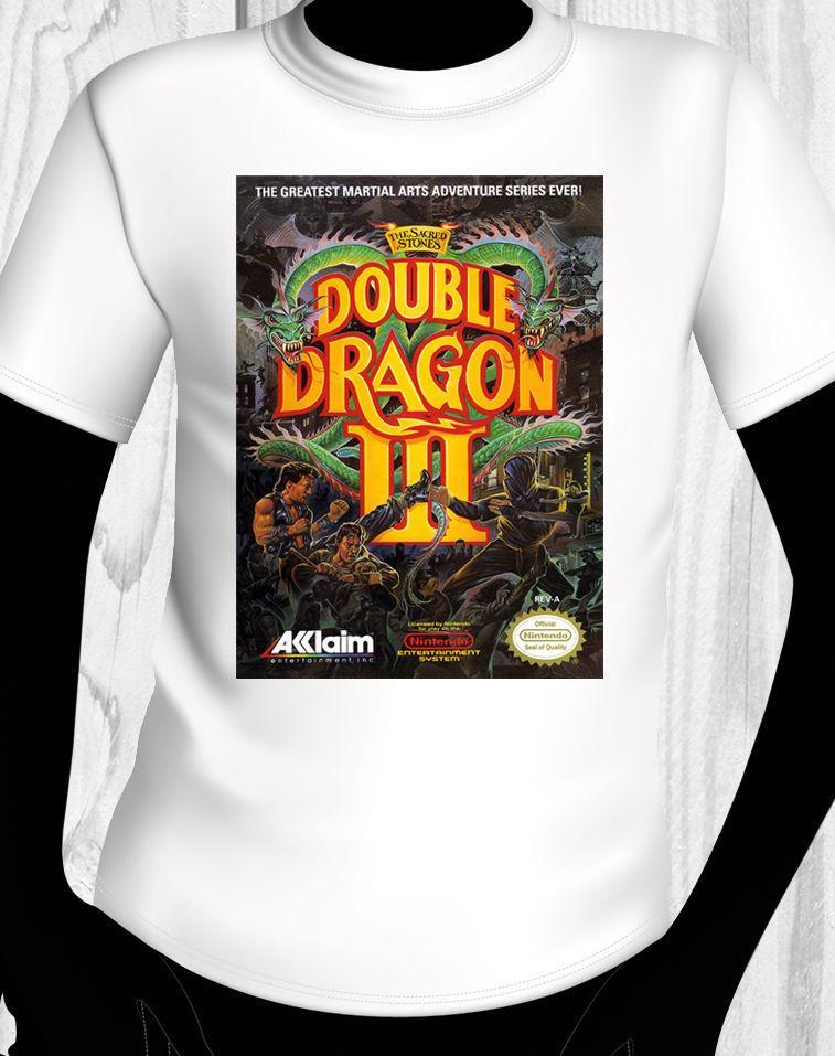 Double Dragon 3 Shirt Usa Versand Sommer Stil Mens T-Shirt Kurzarm T-Shirt Männer Mode 2018 Top Tee Mens Top Tee