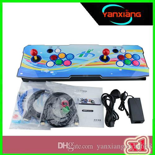 Newest Moonlight Box 6 960in Home Arcade Console Support HDMI/VGA/USB Output for Any Monitor Rainbow Color Consoles 1pcs ZY-960-1