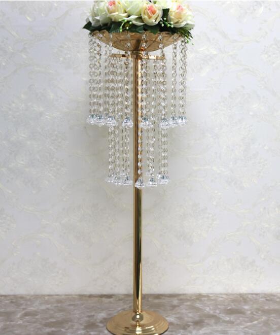 Rood Road LED LED Layout Props Nuevo estilo Doble Acrílico Cristal Cortina Cortina Muebles Muebles Decoración de mesa