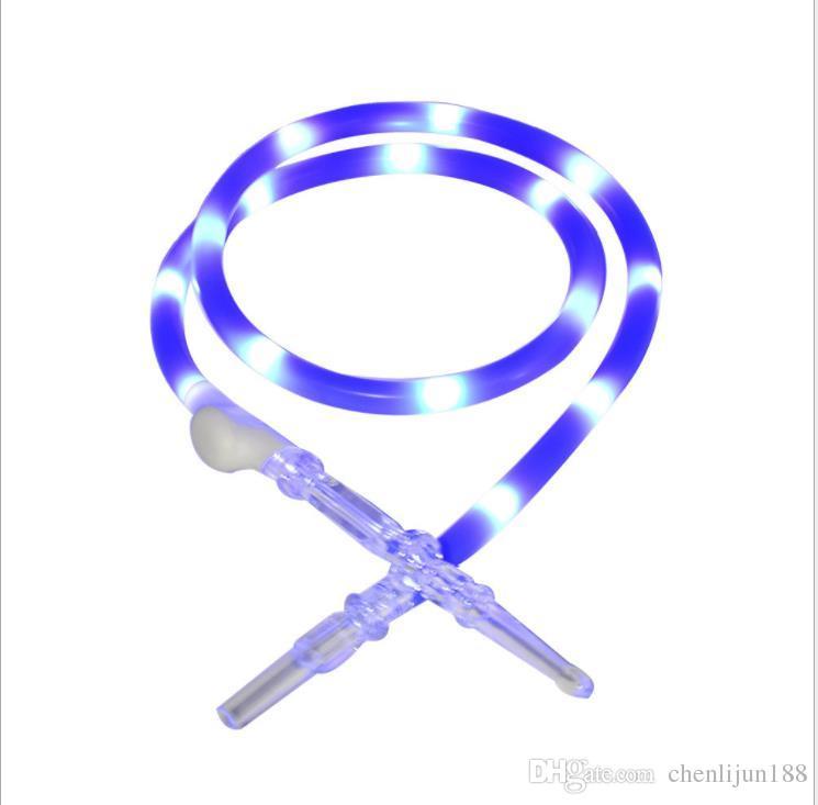 램프, 물 파이프, 실리콘 튜브 및 빛나는 연기 파이프와 아크릴 소재.
