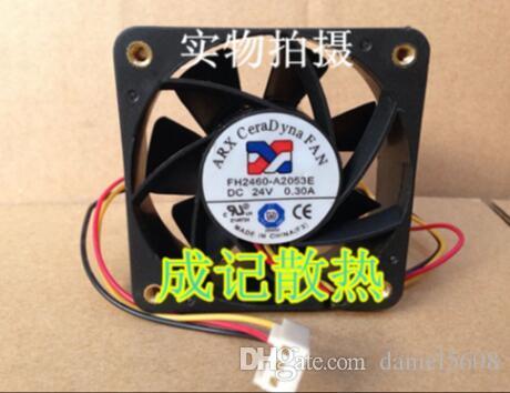 Ventilateur de refroidissement 3 lignes d'origine FH2460-A2053E 24V 0.30A 6CM 6025