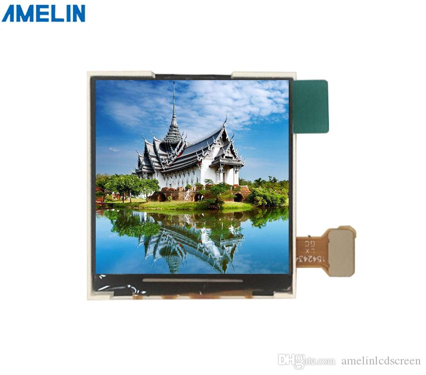 1.54 inch 240*240 TN TFT LCD Module screen with SPI interface display from shenzhen amelin panel manufacture