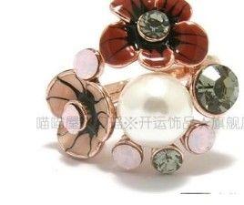 coloratissima perla da donna anello dimensione 7 8 (xysppfh) dfdsfsdf