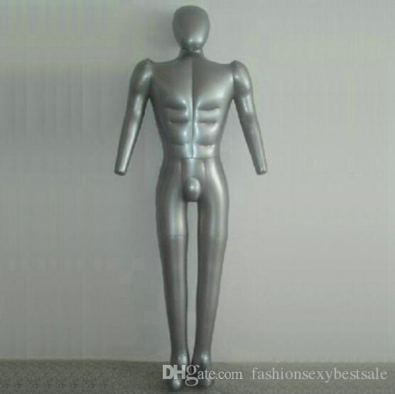 Inflatable Mannequin 1 Pack Child Torso Black