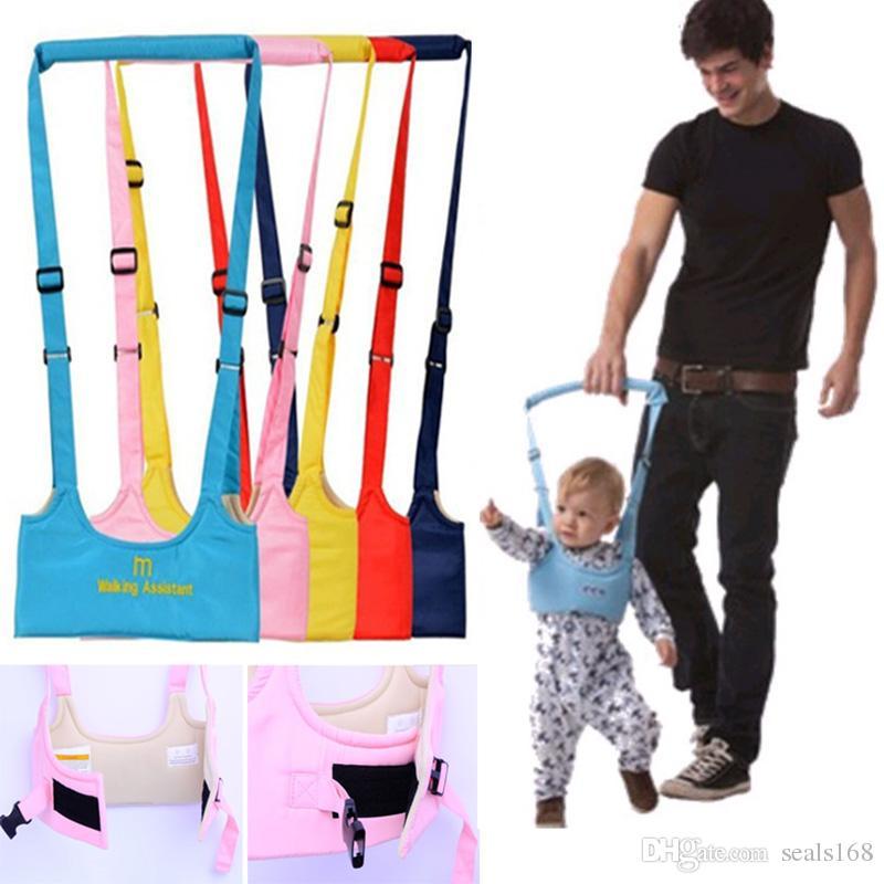 Toddler Walking Assistand Safe Walking Belt Adjustable Harness Keeper Strap Belt Baby Learning Walking In 6-24Months HH7-1287