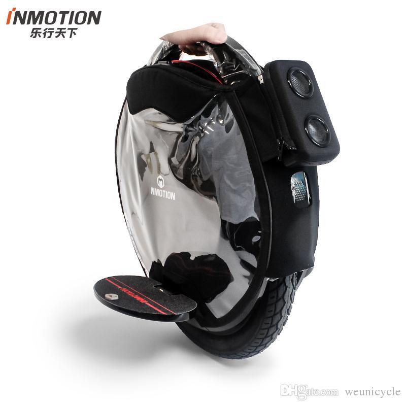 Крышка предохранения от столкновения защитного чехла unicycle Inmotion V8 прозрачная