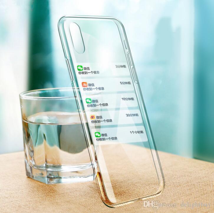 TPU di gomma di cristallo trasparente TPU + Custodia in vetro temperato per iPhone 11 12 Mini Pro XS Max XR 6S 7 8 Plus