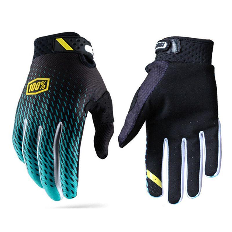 Guanti Ciclismo Uomo Sport Full Finger Anti Gloss 3D Gel Pad Traspirante Moto MTB Della Bici Della Strada Della Bicicletta Inverno guanti