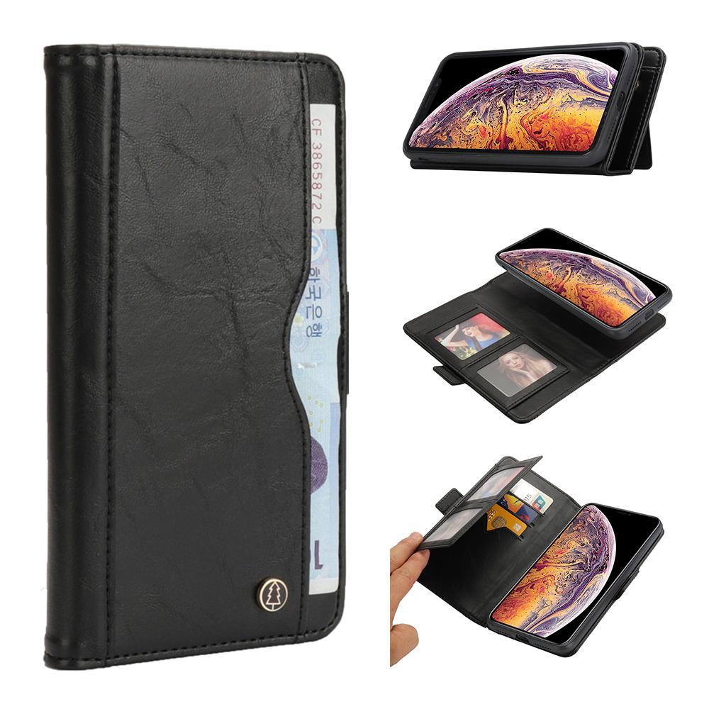 2 em 1 capa de couro para iphone xs max xr x 8 7 6 6 s plus suporte tampa flip para iphone xr xs 6 s 7 8 além de carteira destacável eemia