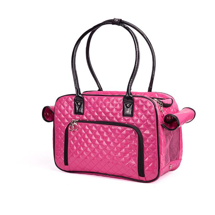 2018 أزياء سوداء السلامة mochila perro الناقل حقيبة بو الجلود حقائب سفر حمل للكلاب الصغيرة الحجم 40 * 27 * 17 سنتيمتر مجانية