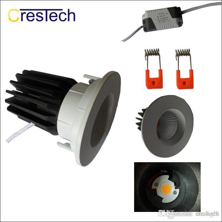 Kapalı ışık Tavan lambası LED Izgara downlihgt ev ofis mutfak AC85-265V için kapalı kullanım 5 yıl garanti Bridegelux COB çip