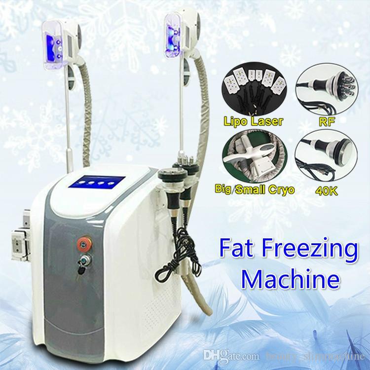 Chegada nova máquina de lipoaspiração Máquinas de laser de gordura máquina de congelamento lipolaser uso pessoal máquina lipo laser frio cavitação ultra-sônica RF emagrecimento