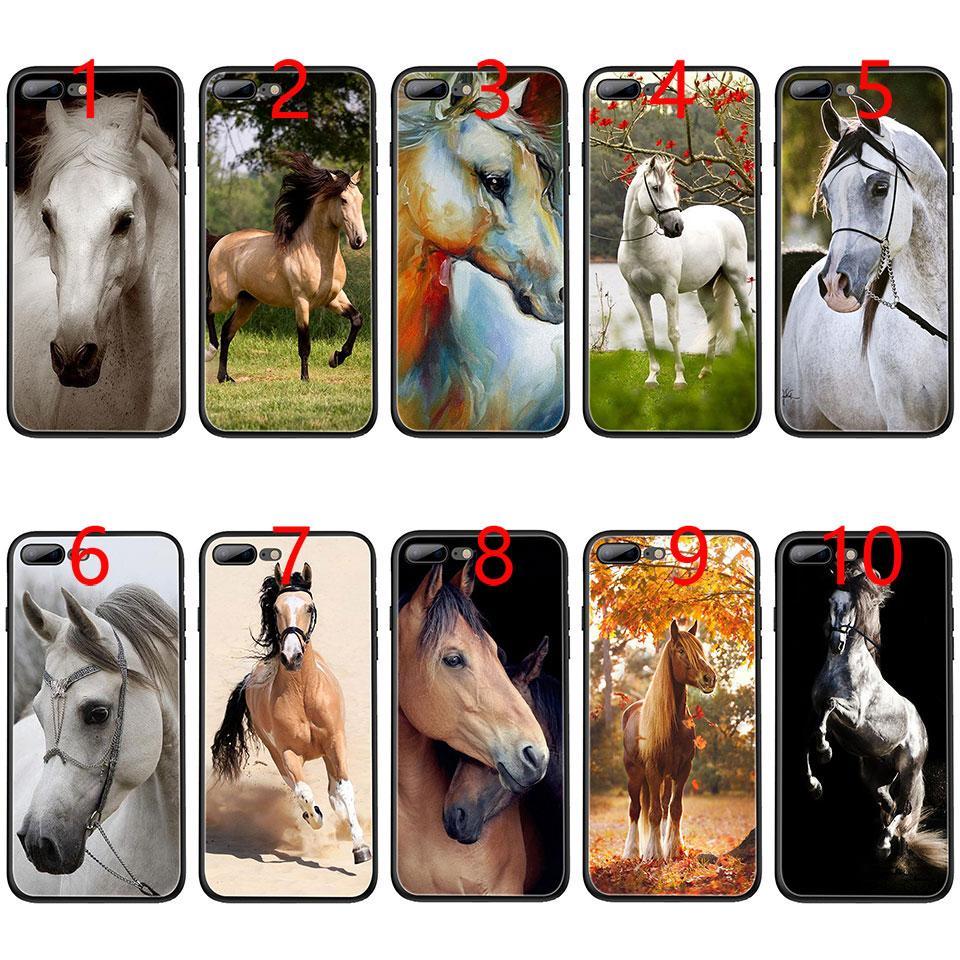 fundas iphone 7 plus caballos