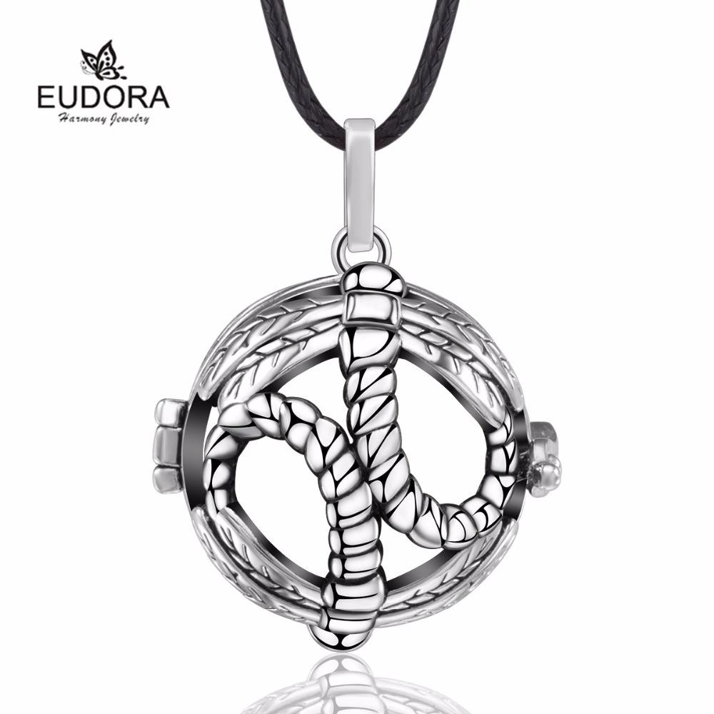 5 Sets Dragonfly Cage Harmony Bola Locket Pendant Pregnancy Chime Baby Caller Mexican Bola for Mother's Day K265Y