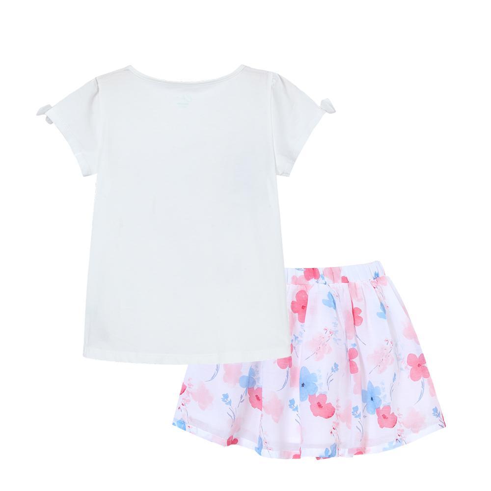Balabala 2018 verão Crianças conjunto de roupas criança menina moda Sem Mangas treino Menina Roupas Crianças vestido enfant Roupas