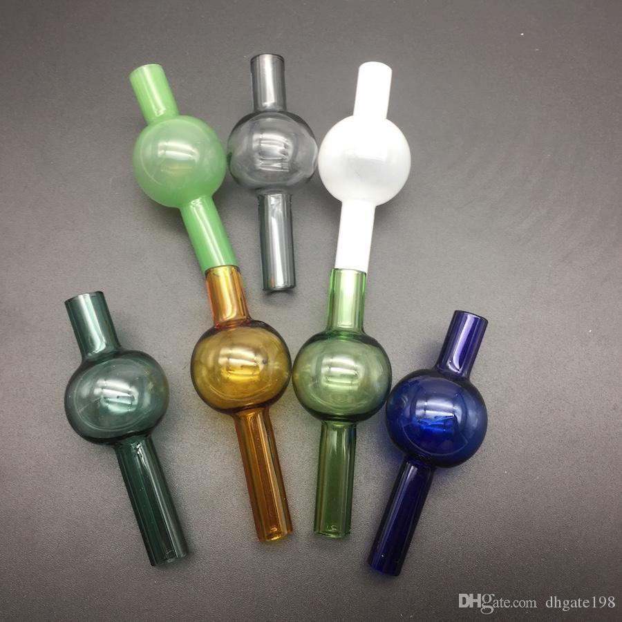Universal-bunte Glas-Blase Carb Kappe Runde Ball Kuppel für XL Dicke Quarz thermische Banger Nails Glas Wasserleitungen, Tupfen Ölplattformen