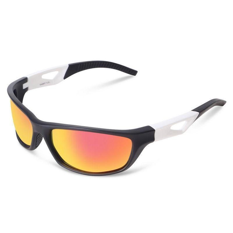 Men Polarized Sports Sunglasses Running Cycling Wrap Around Fishing Driving