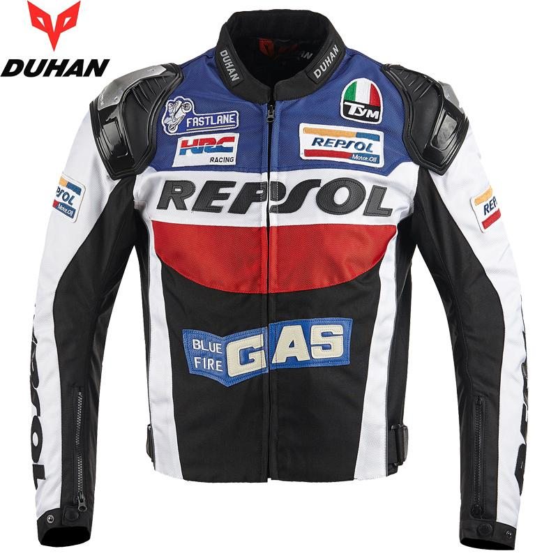 Duhan Motorcycle Jackets moto GP REPSOL Corrida de Motos Jacket Top Quality OXFORD equitação Jersey