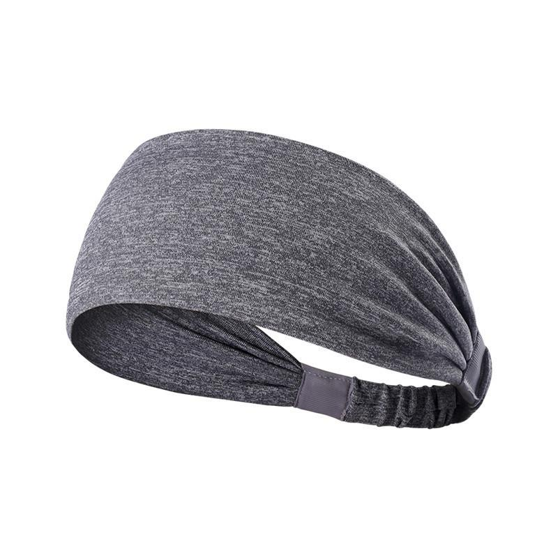 Non Slip Sweatbands Headbands for Yoga Basketball Running Sports Athletic Breathable Fitness Sweatbands Fits to Women and Men
