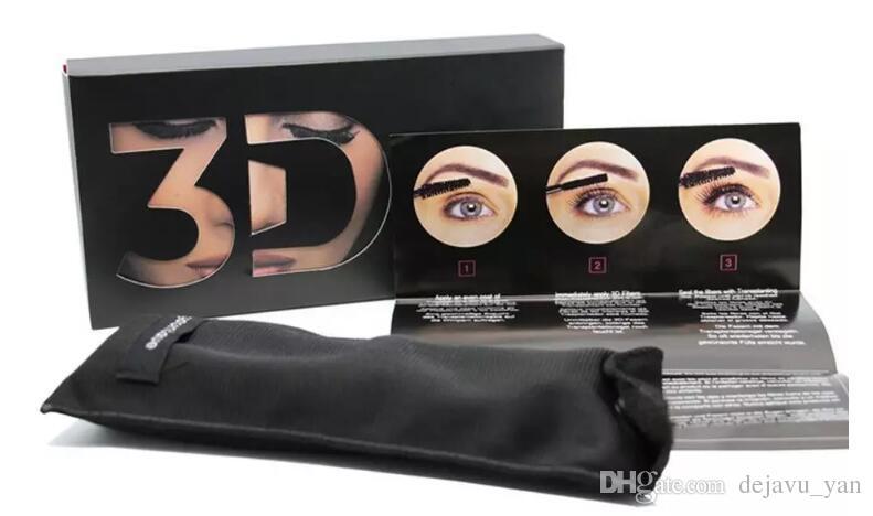 DHL Высокое качество 1030 3D Волокна Плюс MASCARA Набор Макияж ресниц двойной тушь для ресниц Бесплатная доставка
