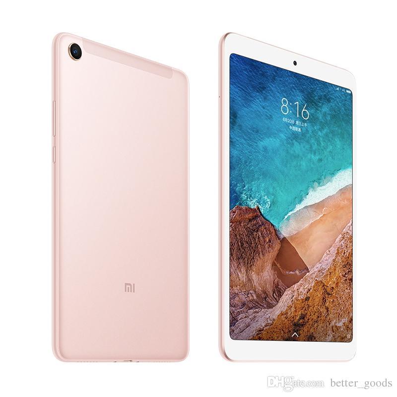 Original Xiaomi Mi Pad 4 MiPad 4 Tablet PC WIFI 3GB RAM 32GB ROM Snapdragon 660 AIE Octa Núcleo Android 8.0 polegadas 13MP face ID inteligente Tablet Pad