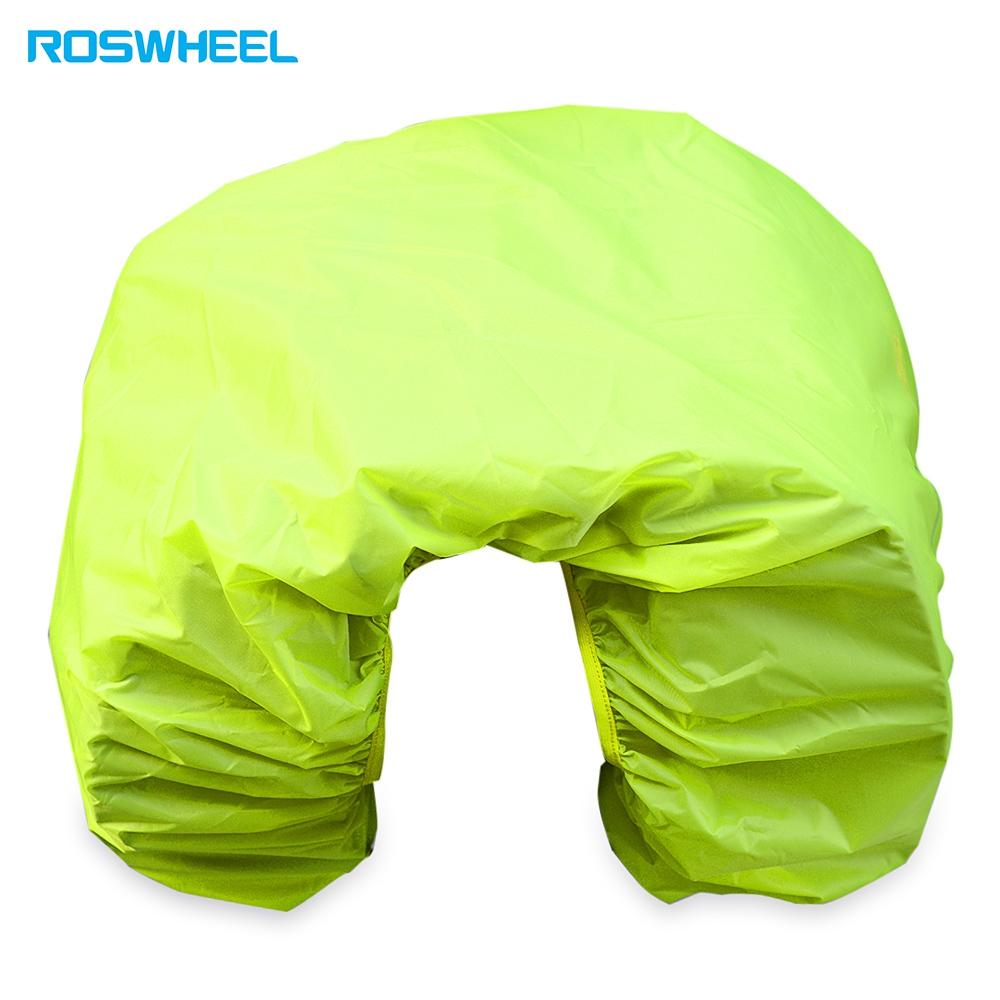 ROSWHEEL Bicycle Rear Rack Bag Rain Cover Dust Protector Biking Cycling Gadget Rear Seat Rainproof Cargo Cover for Bike Rack Bag Protection