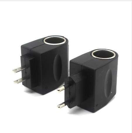 LARBLL Universal Car Cigarette Lighter Plug Power Adapter 220 To 12V Home Power Socket 2 Stypes