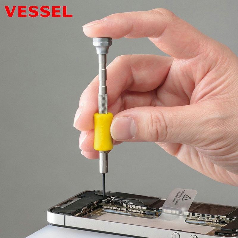 Original Japan Vessel TD Serie Micro Schraubendreher für Reparatur Handy-Uhren Kamera Brille Ultrapräzisions Kleine Schrauben