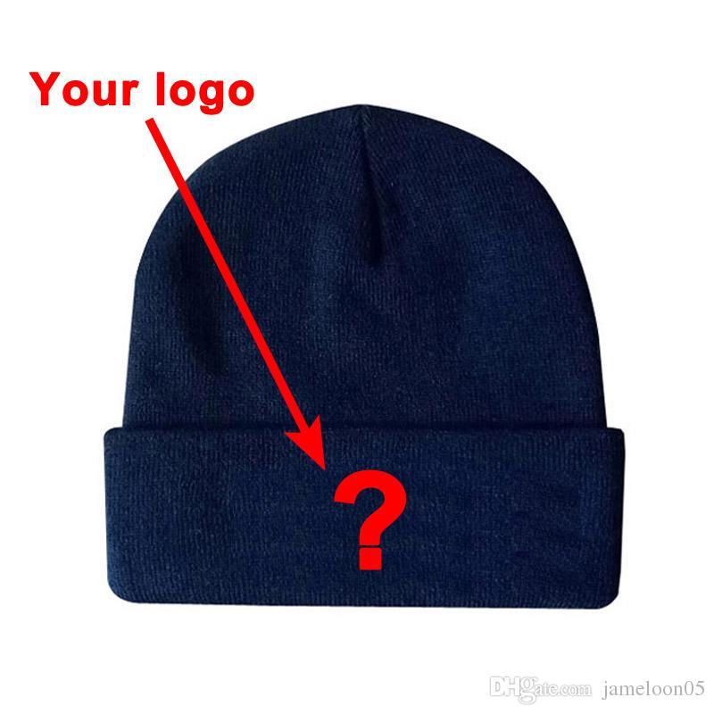DHL Hızlı kargo toptan konfeksiyon şapkalar akrilik malzeme özel renkler fiited spor kış sıcak tutmak şapka özel kasketleri kap