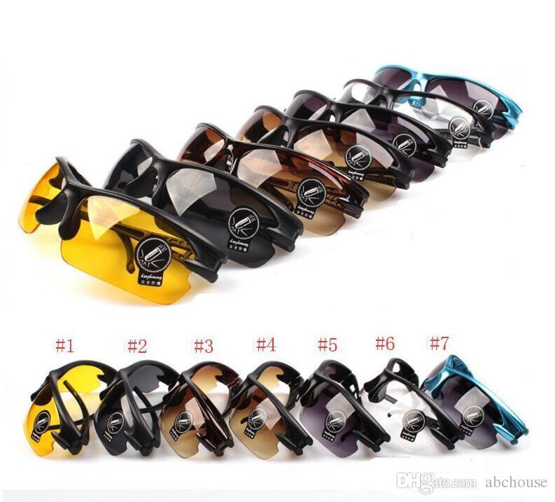 Hot New design lunettes de sécurité lunettes de protection, Hommes de haute qualité concepteur cyclisme sport lunettes de soleil marques en gros 7 couleurs