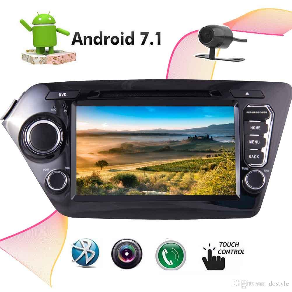 Eincar 8'' Car Electronics Double 2 Din Car DVD Player for KIA K2 2011-2012 Autoradio Car PC Multimedia Player Head Unit Radio Mirror