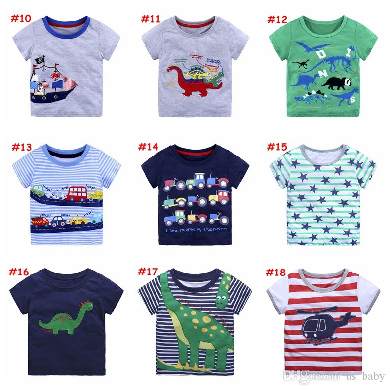 Classic Popular Toddler Kids Baby Girls Cartoon Dinosaur Print Sun Dress Clothes