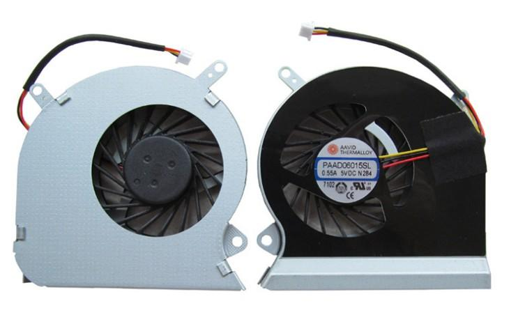 CPUFAN CPU Cooling Fan fit For MSI GE60 16GA 16GC series notebook PAAD06015SL 0.55A 5VDC A166 3pin