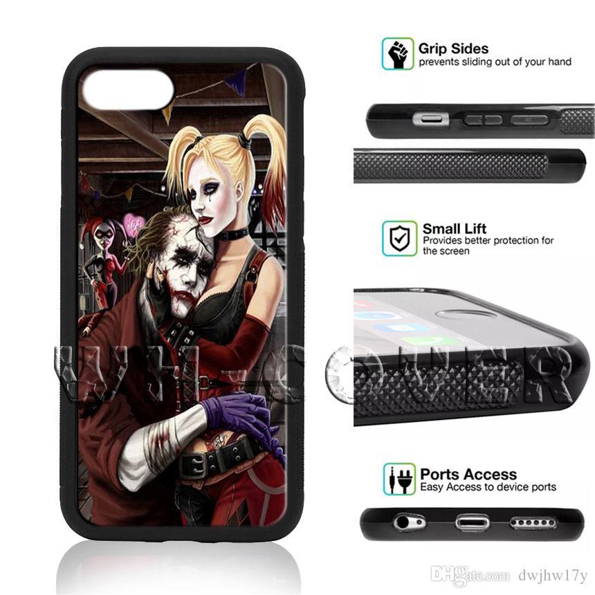 Suicide Squad Harley Quinn Joker Batman Dc V52 Poker Joker Novelty Fundas Phone Case For Ix I8 I8plus I7 I7 I6 I6s Se T6 I4 I5 5c Se Cover Australia