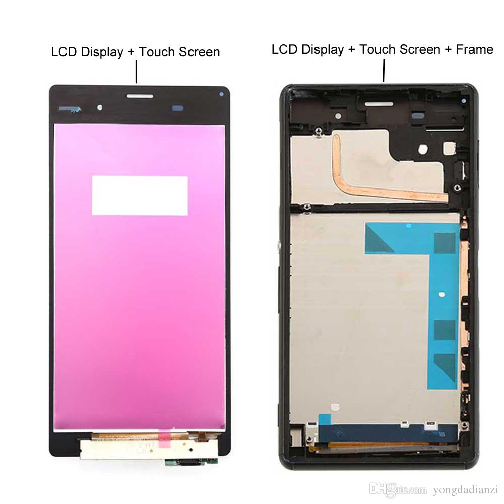 """5/""""Fr Sony Xperia Z3 D6603 LCD Display Touch Screen Digitizer Glass Replace Black"""