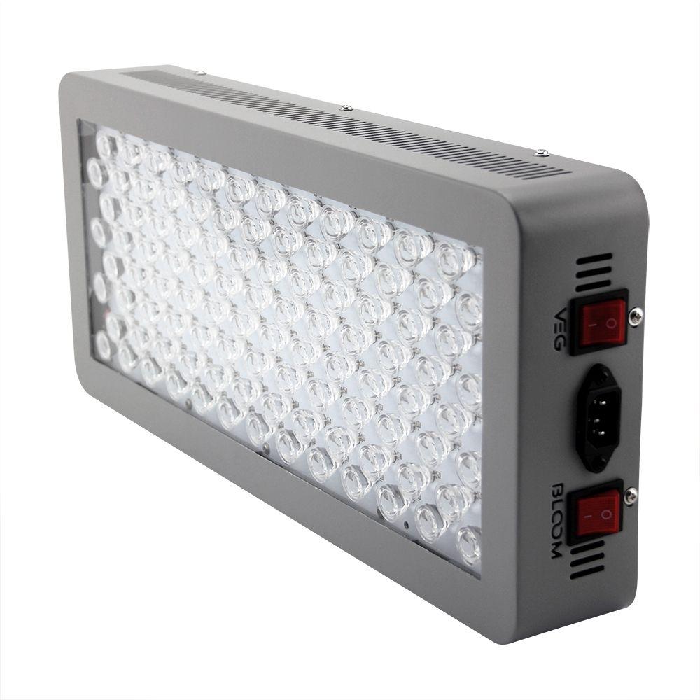 P300 LED ضوء النمو 12 باند 300W الطيف الكامل للنباتات الداخلية الخضار والتحكم بلوم مع عدسة زجاجية بصرية