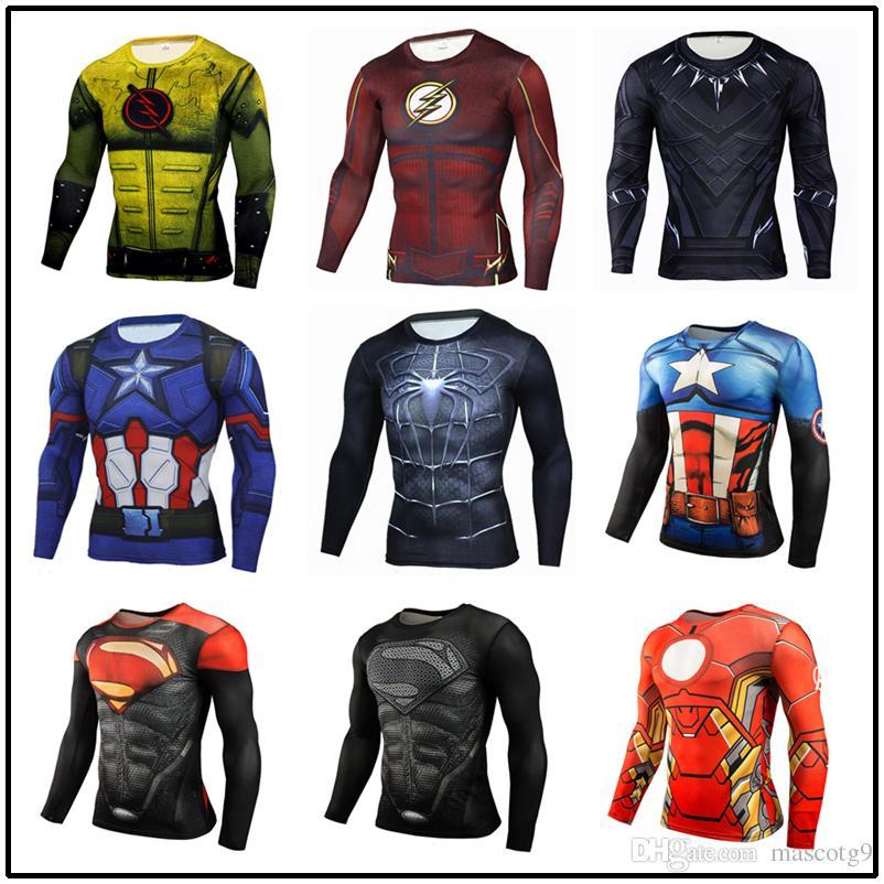 Linterna Compresión 3D Impreso Camisetas delgadas Camisetas Mangas cortas Cosplay Fitness BodyBuilding Crossfit Tops Hombres