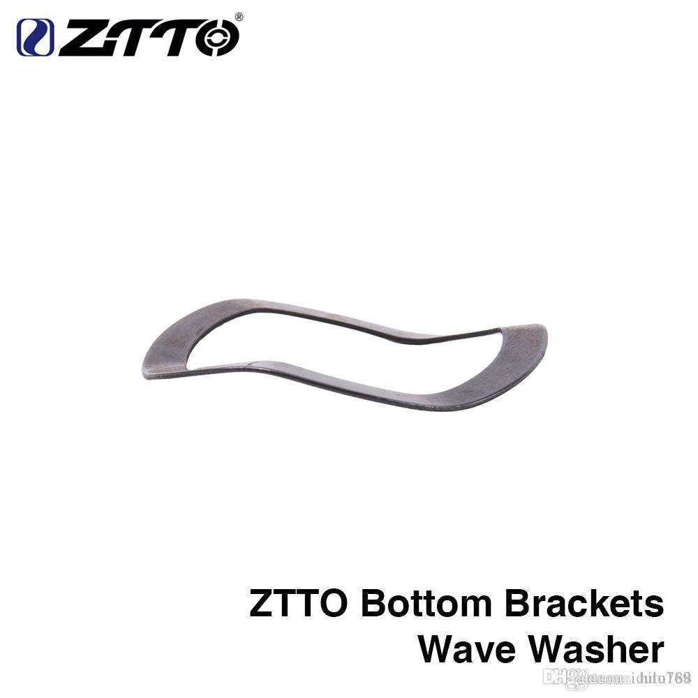 ZTTO Bottom consoles accessories Adapter wave washer 0.5mm for Road mountain bike BB GXP 24 22mm crankset