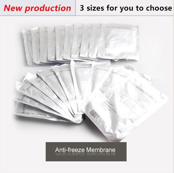 2018 Antifriz Membran Antifreezing Membran Anti-Donma Membran Pad Cryo Terapi 27 * 30 cm 34 * 42 cm DHL Ücretsiz Kargo