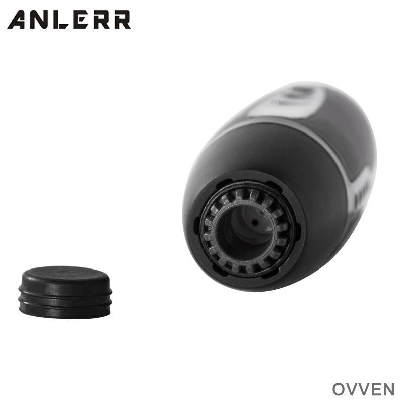 100% Original Anlerr OVVEN Herbal Dry Herb Vaporizer Pen Kit OLED Screen Ceramic Heating 840mAh Temperature Control TC Baking Vape DHL