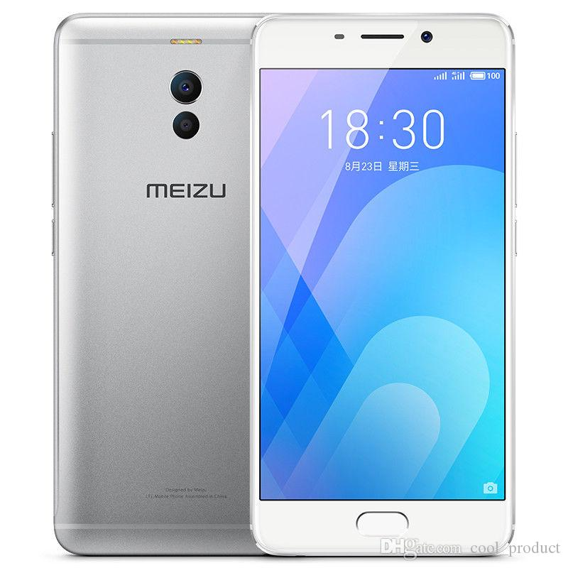 """Original Meizu Note 6 4G LTE Cell Phone 3GB RAM 16GB 32GB ROM Snapdragon 625 Octa Core Android 5.5"""" 16.0MP Fingerprint ID Smart Mobile Phone"""