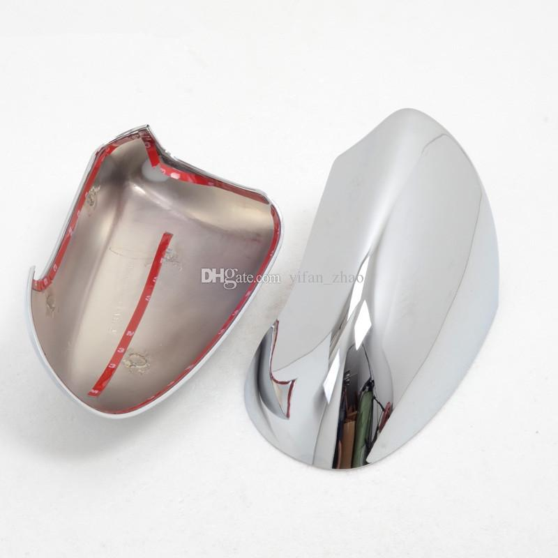 ABS Chromed 옆 문 후방 거울 덮개는 차 부속품을 자른다 2Pcs는 닛산 Qashqai 2007-2013 년을 위해 적합합니다
