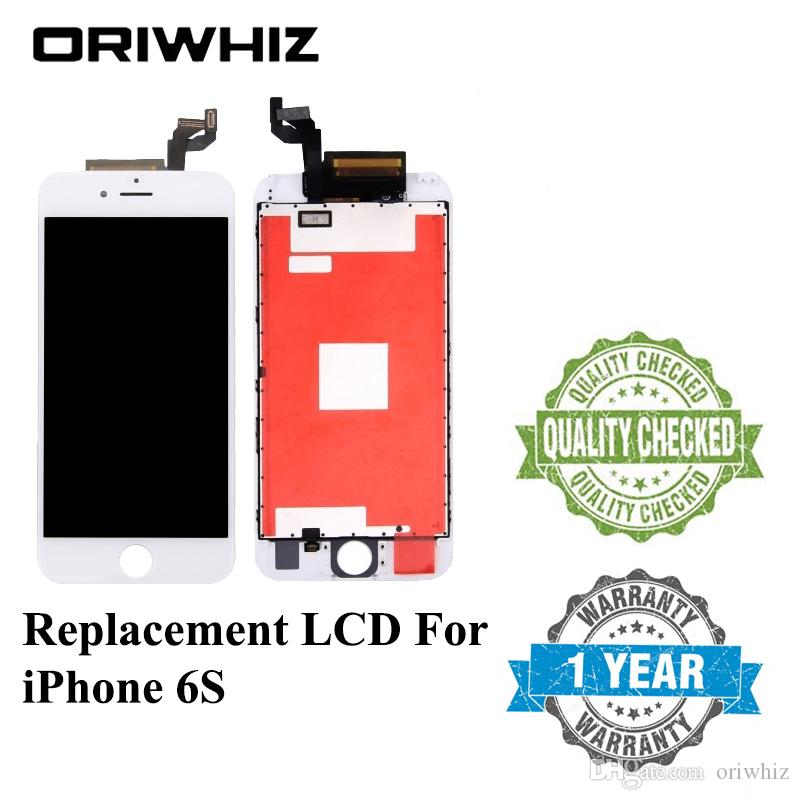 ORIWHIZ 100% Test For iPhone 6s Display 3D Touch LCD Screen Replacement Repair Display 4.7 Inch screen with Frame White Black