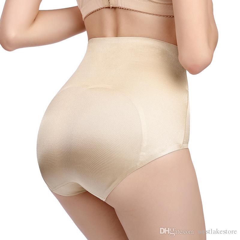 Talla grande Body Shaper Ropa interior de mujer Cintura alta Mujeres Sexy calzoncillos sin costuras pantalones para adelgazar Control de abdomen Calzoncillos Bragas
