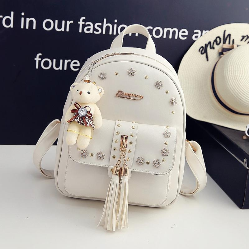 Free Style Shipping Hot School Arrival Fashion Pu New Bags 8692 Punk 2018 Hot Backpack Designer Backpack Bags Leather Lady Men Women Jarpn